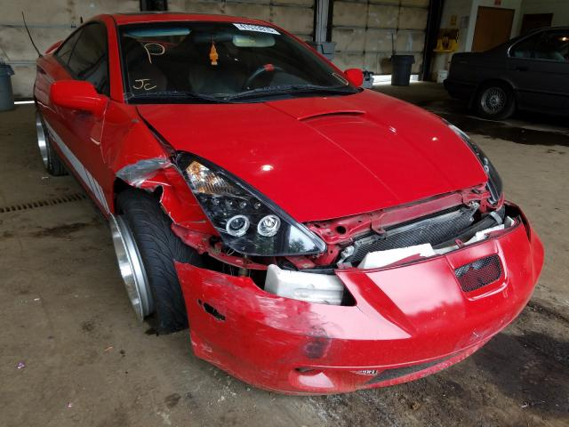 Salvage cars for sale from Copart Graham, WA: 2002 Toyota Celica GT
