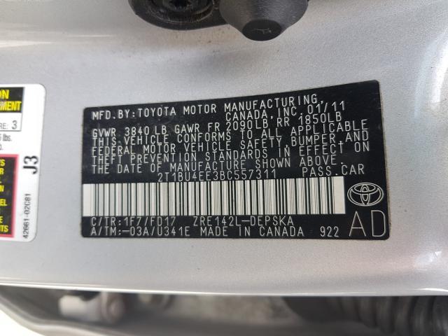 2013 Toyota COROLLA | Vin: 2T1BU4EE1DC964935