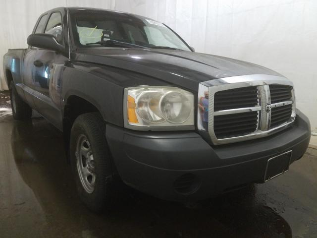 Salvage cars for sale from Copart Central Square, NY: 2006 Dodge Dakota ST