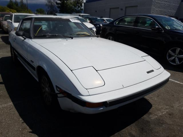 Salvage cars for sale from Copart Rancho Cucamonga, CA: 1985 Mazda RX7 13B