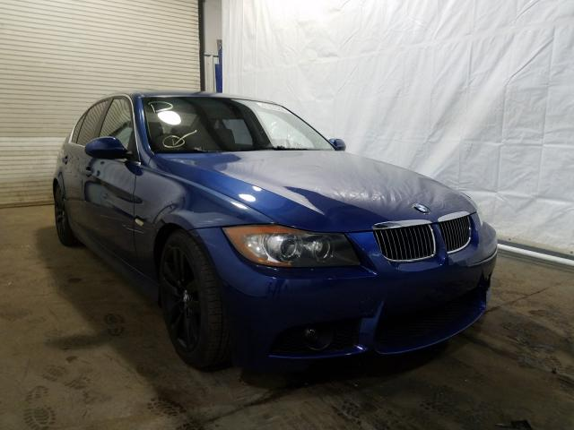 Salvage cars for sale from Copart Central Square, NY: 2007 BMW 335 I