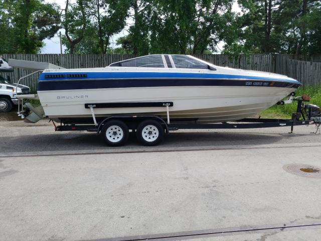 Bayliner salvage cars for sale: 1986 Bayliner Marine Trailer