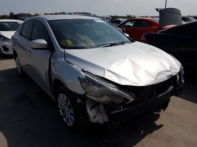 Salvage cars for sale from Copart Grand Prairie, TX: 2019 Nissan Sentra S