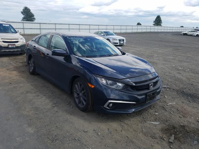 Salvage cars for sale from Copart Airway Heights, WA: 2019 Honda Civic EX