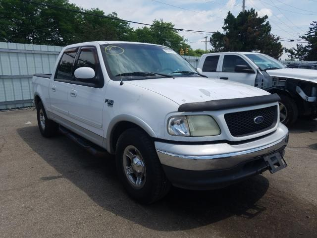 Salvage cars for sale from Copart Moraine, OH: 2002 Ford F150 Super