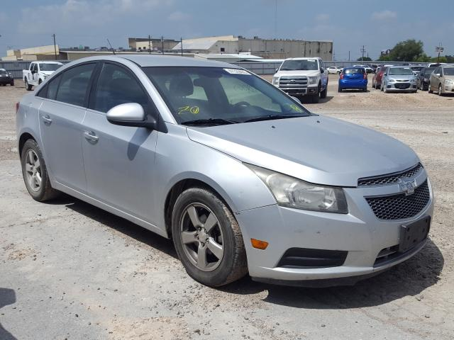 Salvage cars for sale from Copart Mercedes, TX: 2014 Chevrolet Cruze LT