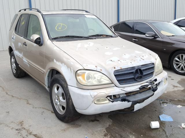 Salvage cars for sale from Copart Apopka, FL: 2002 Mercedes-Benz ML 320