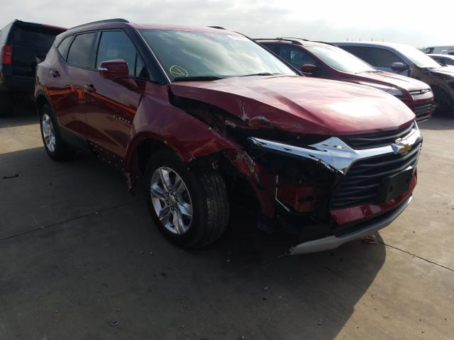 Salvage cars for sale from Copart Grand Prairie, TX: 2019 Chevrolet Blazer 1LT