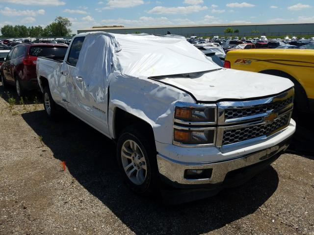 Salvage cars for sale from Copart Davison, MI: 2015 Chevrolet Silverado