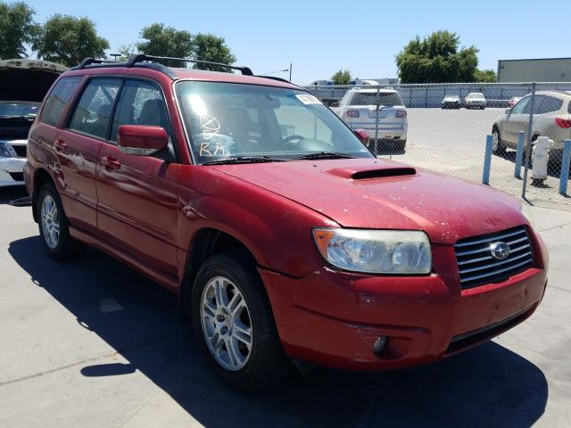 Subaru salvage cars for sale: 2007 Subaru Forester 2