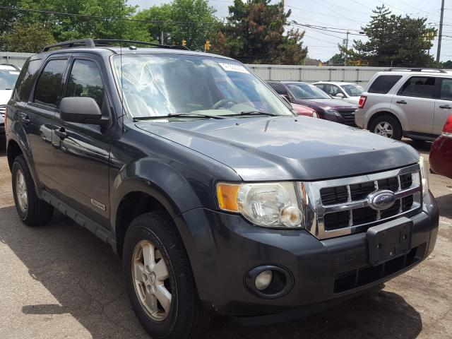 Salvage cars for sale from Copart Moraine, OH: 2008 Ford Escape XLT