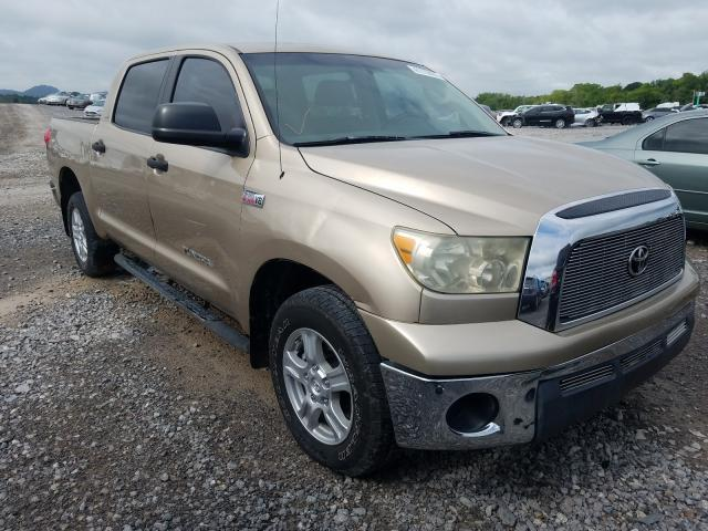 Salvage cars for sale from Copart Madisonville, TN: 2007 Toyota Tundra CRE