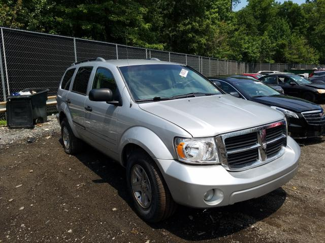 Salvage cars for sale from Copart Waldorf, MD: 2008 Dodge Durango SL