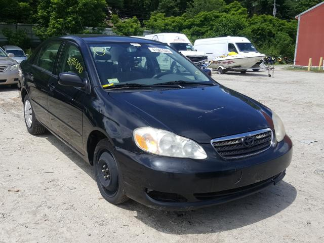 Salvage cars for sale from Copart Mendon, MA: 2008 Toyota Corolla CE