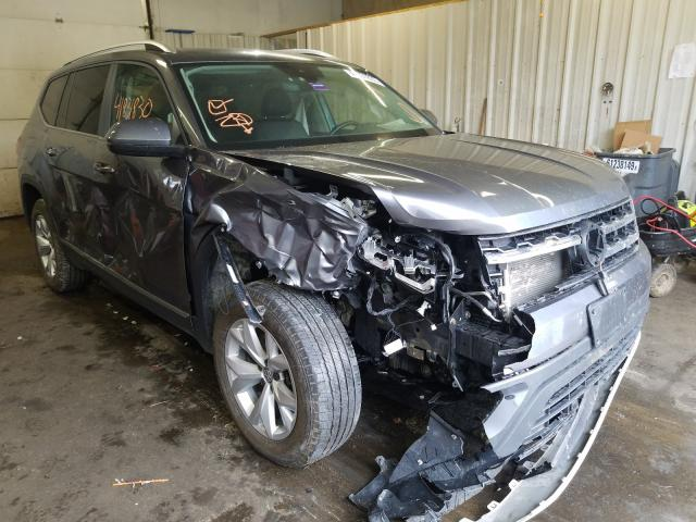 Salvage cars for sale from Copart Lyman, ME: 2018 Volkswagen Atlas SEL