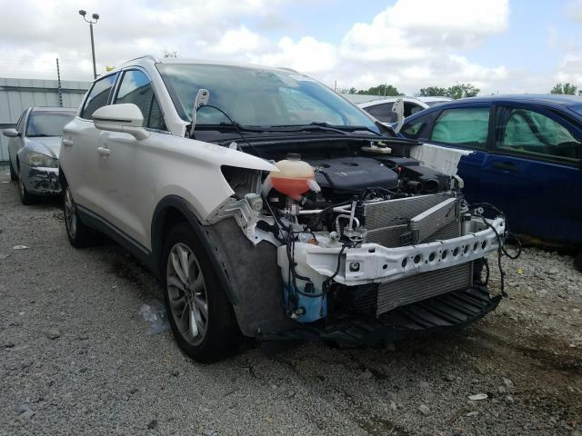 Salvage cars for sale from Copart Lawrenceburg, KY: 2017 Lincoln MKC Select