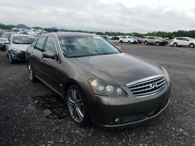 Salvage cars for sale from Copart Madisonville, TN: 2006 Infiniti M45 Base