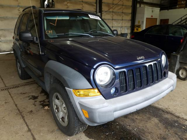 Salvage cars for sale from Copart Graham, WA: 2006 Jeep Liberty SP