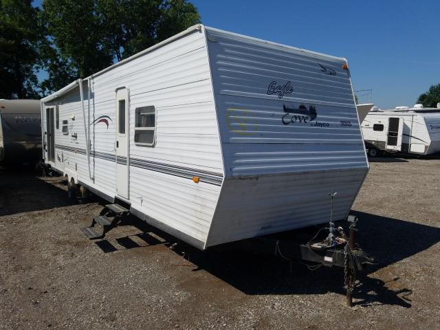 Jayco salvage cars for sale: 2002 Jayco Cove