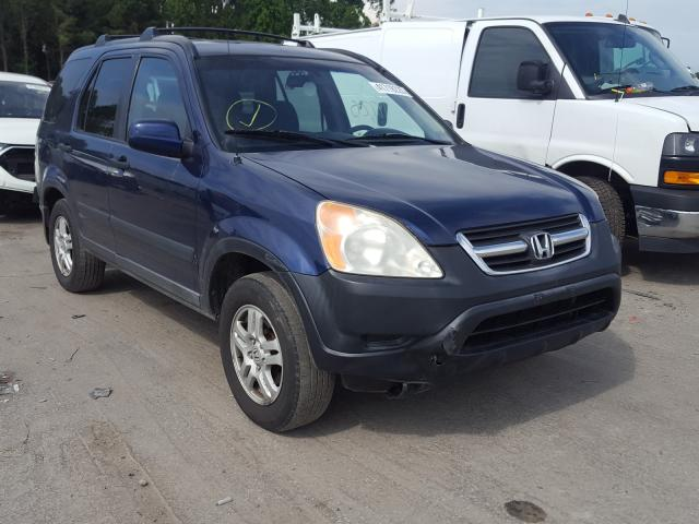 Salvage cars for sale from Copart Dunn, NC: 2002 Honda CR-V EX