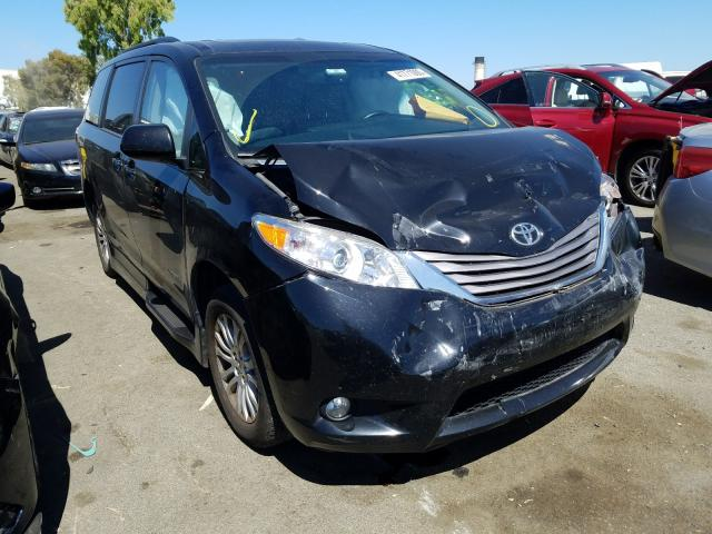 2015 Toyota Sienna XLE for sale in Martinez, CA