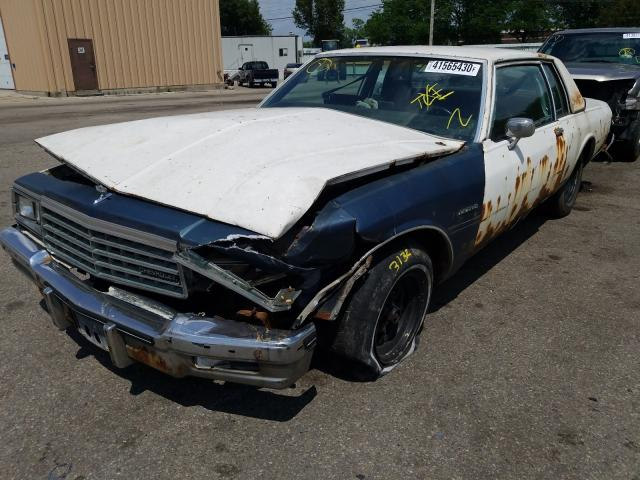 salvage title 1985 chevrolet caprice coupe 5 0l for sale in moraine oh 41565430 1985 chevrolet caprice cl 5 0l for sale in moraine oh lot 41565430