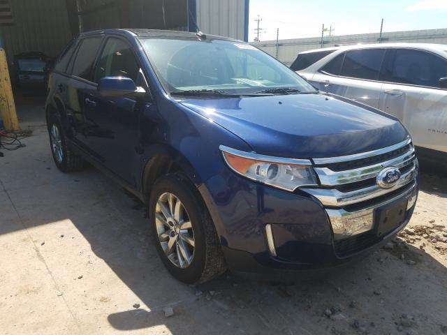 Ford Edge SEL salvage cars for sale: 2012 Ford Edge SEL