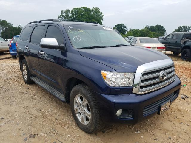 Salvage cars for sale from Copart China Grove, NC: 2010 Toyota Sequoia PL