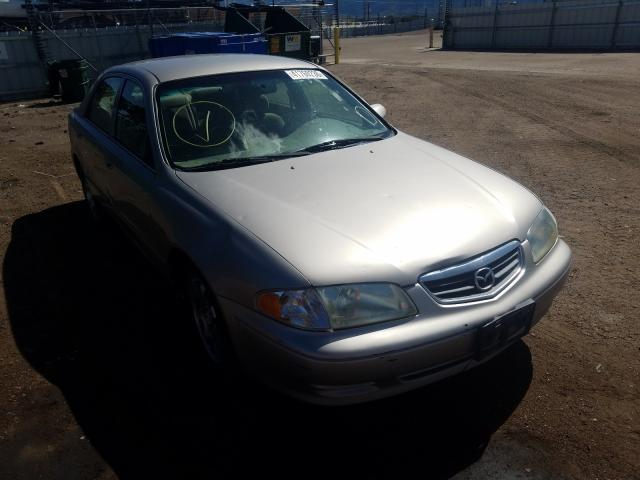 Salvage cars for sale from Copart Colorado Springs, CO: 2002 Mazda 626 LX