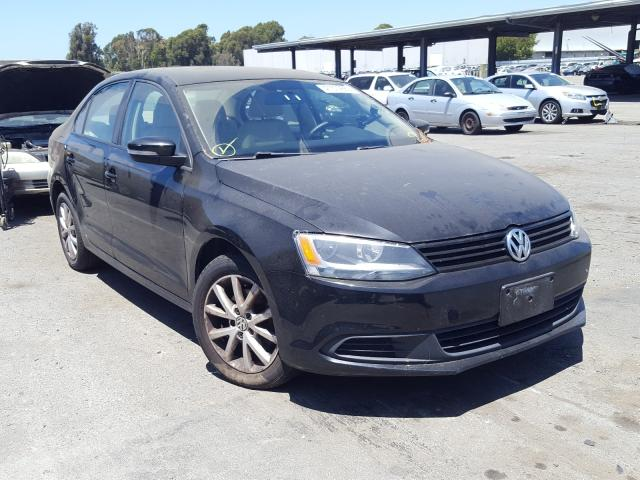 Salvage cars for sale from Copart Hayward, CA: 2012 Volkswagen Jetta SE