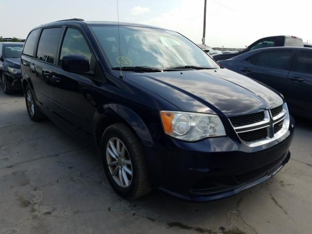 Salvage cars for sale from Copart Grand Prairie, TX: 2013 Dodge Grand Caravan