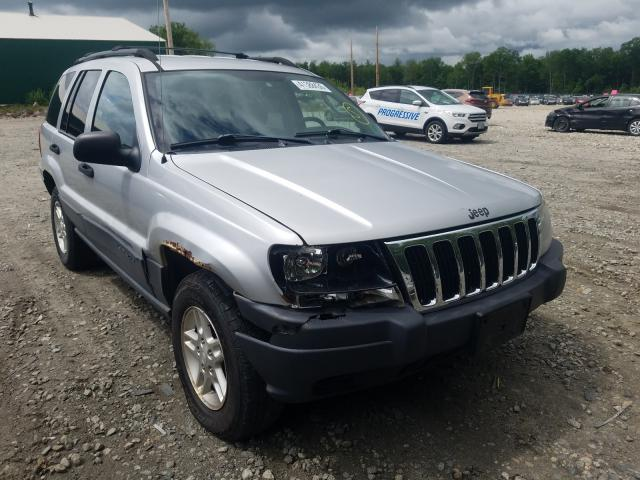 Salvage cars for sale from Copart Candia, NH: 2003 Jeep Grand Cherokee
