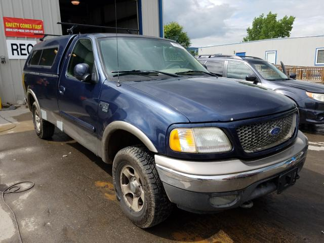 Salvage cars for sale from Copart Duryea, PA: 2003 Ford F150