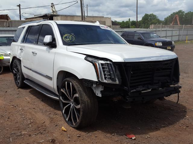 Salvage cars for sale from Copart Hillsborough, NJ: 2018 Cadillac Escalade L