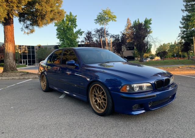Salvage cars for sale from Copart Antelope, CA: 2000 BMW M5