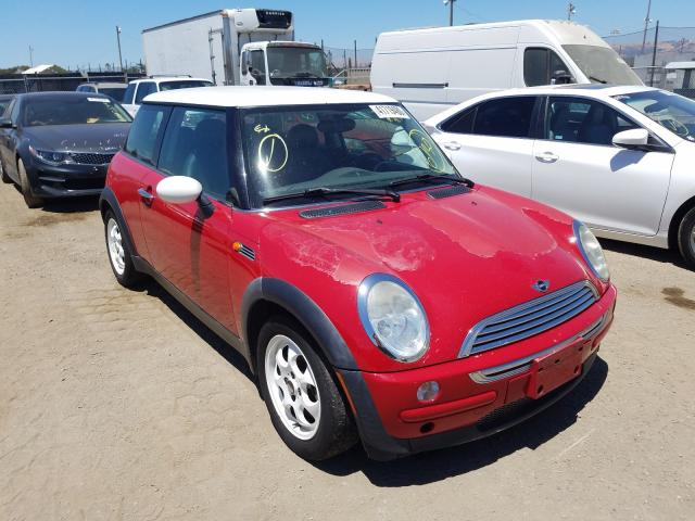 Mini Cooper salvage cars for sale: 2002 Mini Cooper