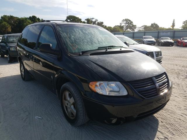 Salvage cars for sale from Copart Fort Pierce, FL: 2007 Dodge Grand Caravan