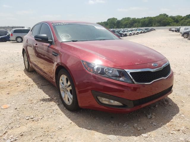 Salvage cars for sale from Copart Oklahoma City, OK: 2011 KIA Optima EX