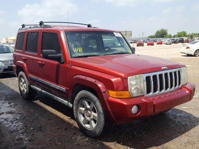 Salvage cars for sale from Copart Mercedes, TX: 2006 Jeep Commander