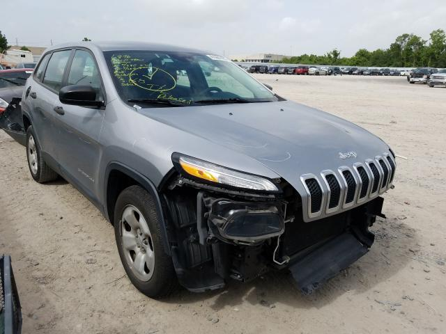 Jeep Cherokee S salvage cars for sale: 2014 Jeep Cherokee S