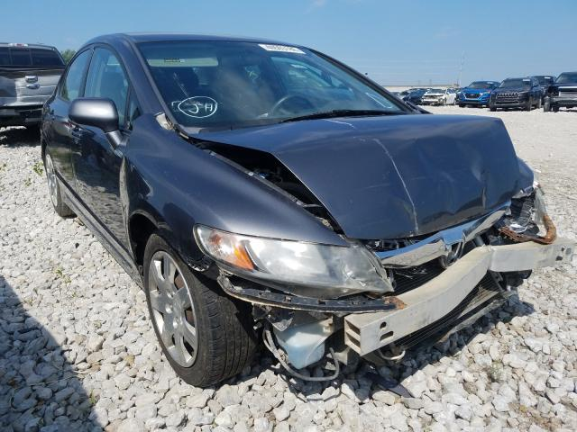 Salvage cars for sale from Copart Columbus, OH: 2010 Honda Civic LX