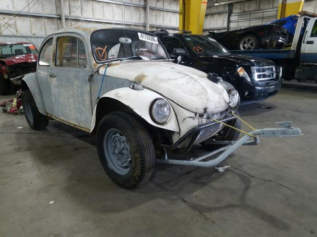 Salvage cars for sale from Copart Woodburn, OR: 1966 Volkswagen Beetle