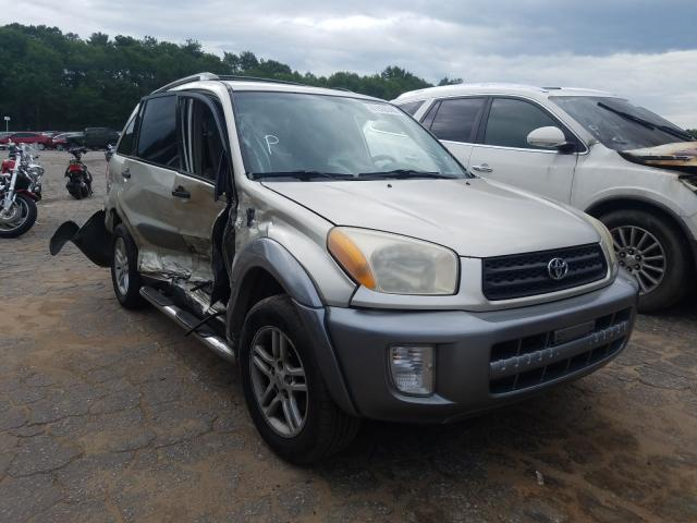Toyota Rav4 salvage cars for sale: 2002 Toyota Rav4