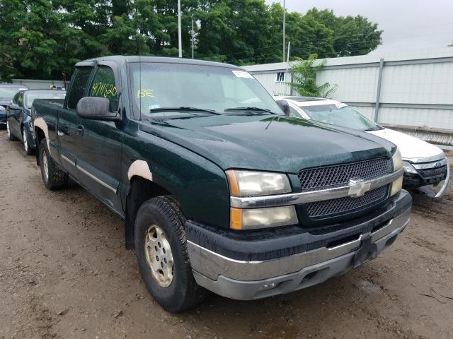Salvage cars for sale from Copart North Billerica, MA: 2003 Chevrolet Silverado