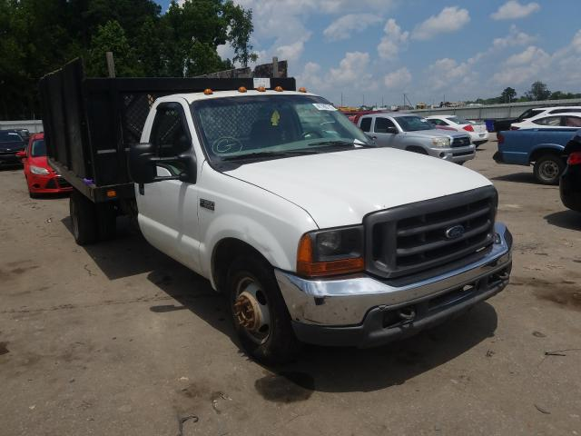 Salvage cars for sale from Copart Dunn, NC: 2000 Ford F350 Super