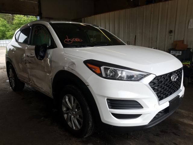 Salvage cars for sale from Copart Lyman, ME: 2020 Hyundai Tucson Limited