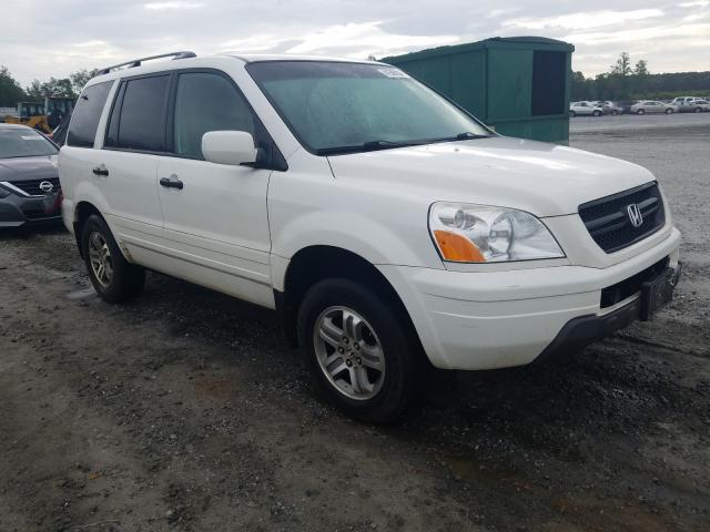 Honda Pilot EXL salvage cars for sale: 2004 Honda Pilot EXL