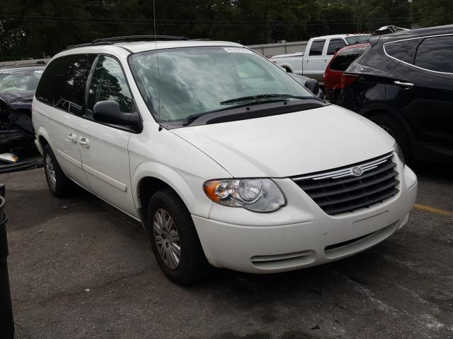 Chrysler Town & Country salvage cars for sale: 2007 Chrysler Town & Country