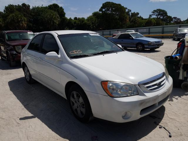 Salvage cars for sale from Copart Fort Pierce, FL: 2006 KIA Spectra LX