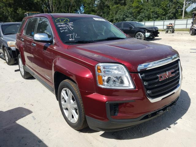 Salvage cars for sale from Copart Ocala, FL: 2017 GMC Terrain SL